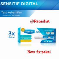 Sensitif digital Tespek alat test kehamilan Testpack