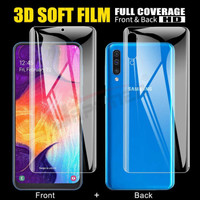 SAMSUNG GALAXY A12/A02S/A32/A52/A72 HYDROGEL FRONT+BACK PROTECTOR