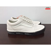 Sepatu Vans Old Skool Vault OG x WTAPS White Black Original