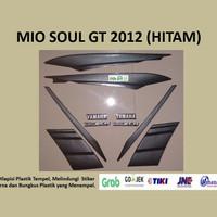 Mio soul GT 2012 (hitam) List Striping Stripping Stiker Sticker