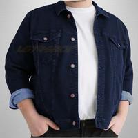 Jaket Jeans Big Size   Jaket Levis Jumbo XXL-XXXL