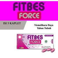 Fitbes Force Strip Isi 5 Kaplet ( Vitamin Daya Tahan Tubuh )