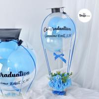 Balon box Graduation / bloombox Graduation / Wisuda / anak muda