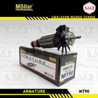 Armature Gurinda Mollar MT90 Angker Rotor Mesin Gerinda Maktec