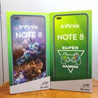 infinix note 8 6/64gb resmi garansi infinix