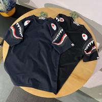 Kaos Tshirt BAPE Shark Shoulder