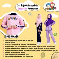 Ragga Kids Set Baju Olahraga Perempuan / Raggakids Set Baju Olahraga