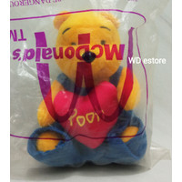 McDonald Happy Meal Toys Winnie The Pooh With Heart Pillow