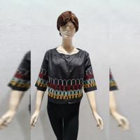 Woman Fashion Black Outer - Baju Luaran Wanita