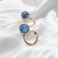 M03 Blue Sapphire Earrings