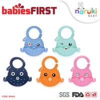 BabiesFirst Silicone Baby Bib Slabber Anti Air Celemek Bayi BF902