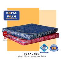kasur busa royal REE 160 x 200 garansi 20 tahun