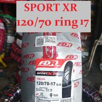 Ban Motor FDR Sport XR EVO 120/70 ring 17 CBR R15 Ninja Vixion MX KING