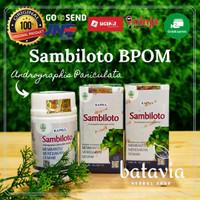 Kapsul Sambiloto tazzaka BPOM 60 Kapsul Original 100%
