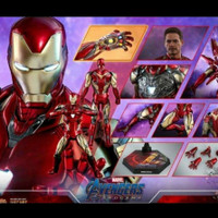 IRON MAN MARK 85 HOT TOYS DIECAST AVENGERS ENDGAME 1/6