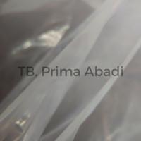 Plastik Cor Bening / Plastik Bangunan Meteran