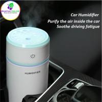 Car Humidifier Pelembab Udara Aromaterapi Night Pull Out - Blue