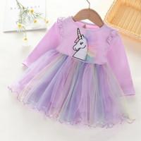 Baju Dress Unicorn #P61 Anak Cewe Rok Tutu Import