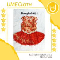 Cheongsam cewek murah / Imlek Anak / Baju Shanghai anak #8151 #L8151