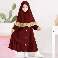 Gamis Anak Perempuan Brissa Fashion Anak Busana Muslim Baju Gamis Anak