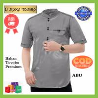 Baju Koko Pria Lengan Pendek Terbaru 2021 Bahan Katun Toyobo