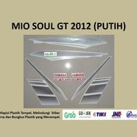 Mio soul GT 2012 (putih) List Striping Stripping Stiker Sticker