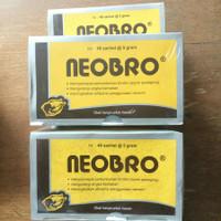 neobro 5 gr kemasan 1 pak ( isi 40 sachet)