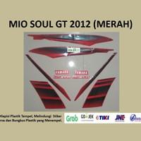 Mio soul GT 2012 (merah) List Striping Stripping Stiker Sticker