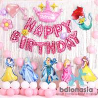 Balonasia Dekorasi Princess Set Lengkap