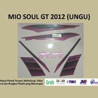 Mio soul GT 2012 (ungu) List Striping Stripping Stiker Sticker