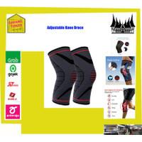 Adjustable Knee Brace Penyangga Lutut Atletik Import