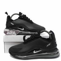 Sepatu Sneakers Pria Nike Air MAx 720 LEather Black White 40 - 44 BNIB