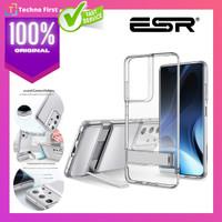 Case Samsung Galaxy S21 Ultra Plus ESR Metal Kickstand Clear Casing