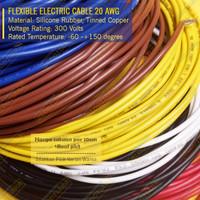 Kabel Serabut AWG 20 Eceran per-10cm Flexible 20AWG Tinned Copper