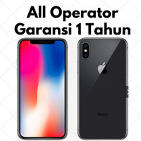 Apple iPhone X 256GB Grey/Silver - All Operator - Gray