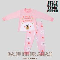 Baju Tidur Balita lucu / Kaos Anak / Tshirt Anak