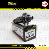 Armature Mollar MT370 Angker Rotor Mesin Trimer Maktec