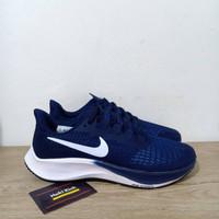 Sepatu Nike Zoom Pegasus 37 Blue Navy White