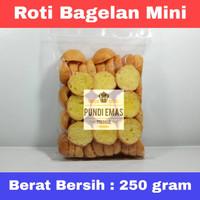 KUE ROTI BAGELAN SISIR BANDUNG SPESIAL TERLARIS KILOAN 250 GRAM VARIAN - Bagelan Mini