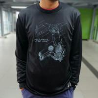 Baju Kaos Baselayer Lengan Panjang Original Asics Basketball Wear