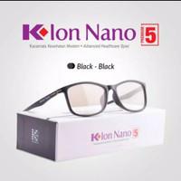 Kacamata K Ion Nano Premium 5 - Original 100% K-link - Hitam