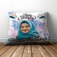 Bantal sofa Custom Untuk Pernikahan Kado Ulang Tahun Lucu - 40x40