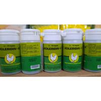 Koleridin isi 10 kapsul obat berak hijau unggas