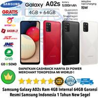 Samsung Galaxy A02S 4GB/64GB A0 2S 4/64GB A02 S 4/64 RESMI NOT A20 S
