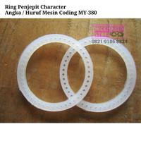 Ring Penjepit Character Angka Coding MY- 380F