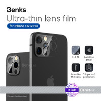 BENKS Soft Camera Protector For New iPhone 12 /12 Pro - 2psc(6.1 inch)