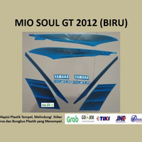 Mio soul GT 2012 (biru) List Striping Stripping Stiker Sticker