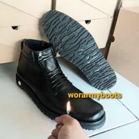 Sepatu PDH Dob Tebal Sol Pasir by Wor Army Boots