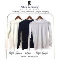 Manset Baju Atasan/Dalaman Wanita Polos Bahan Kaos AllSize&Jumbo