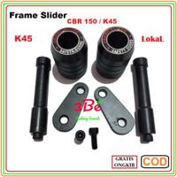 (EMS) Frame Slider CBR 150 (K45) All Black Berkualitas